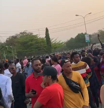 Crowd Storms Abuja Audition For BBNaija 2019