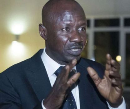 EFCC Boss, Ibrahim Magu Issues Warning To Banks Over Suspicious Transactions