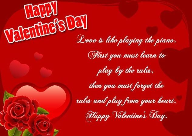 Romantic Valentine Messages For Lovers