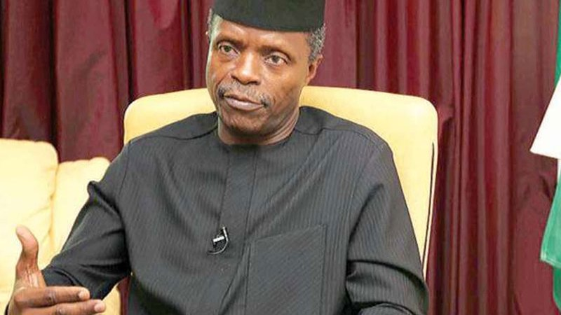 Yemi Osinbajo Reacts To Reports Of Resignation