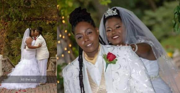 Nigerian Woman Marries Her Female Lover In South Africa