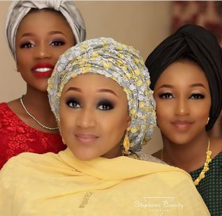 Photos Of President Buhari's Cute Granddaughters