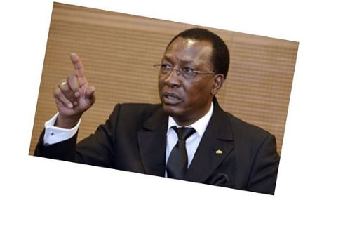 President Of Chad, Deby Fires Military Chief After Boko Haram Killed 23 Soldiers