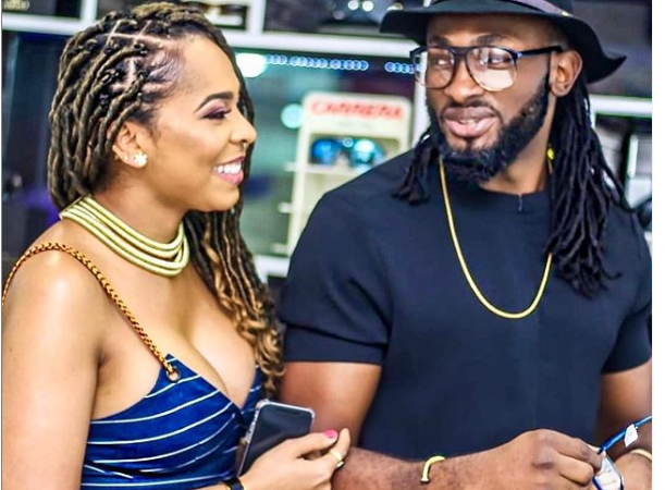 Uti Nwachukwu React To Rumours That He Is Expecting A Child With Tboss