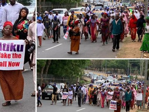Women Holds Rally In Abuja, Begs Atiku To Accept Defeat