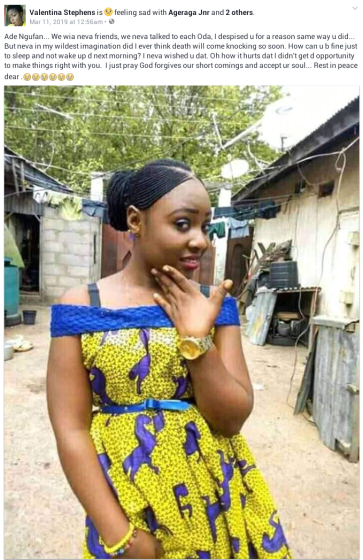 Young Nigerian Bride-to-be Dies In Her Sleep