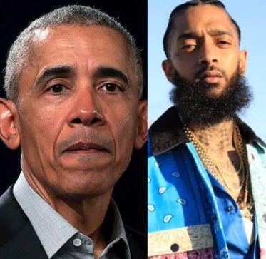 Former U.S. President, Obama Pays Touching Tribute To Nipsey Hussle
