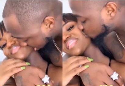 Is Davido's Girlfriend Chioma Pregnant See Her Huge Boobs
