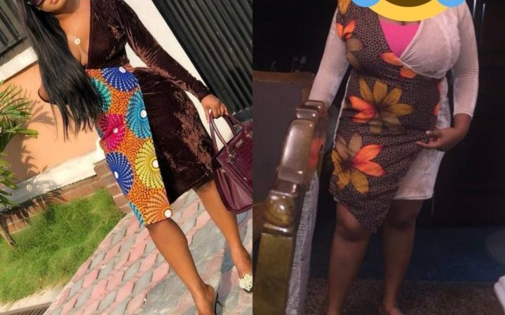 Nigerian Lady Shows Off What She Ordered vs What She Got