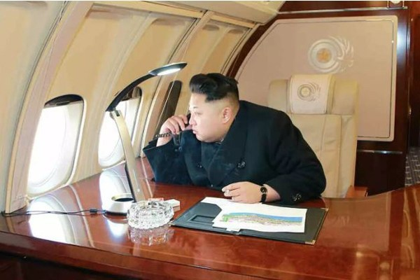 North Korean President, Kim Jong-Un Visit Russia In His Armoured Train