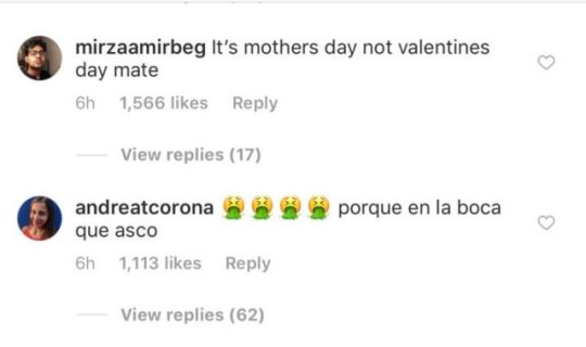 Colombian Musician, Maluma Under Fire For Kissing Mum On The Lips