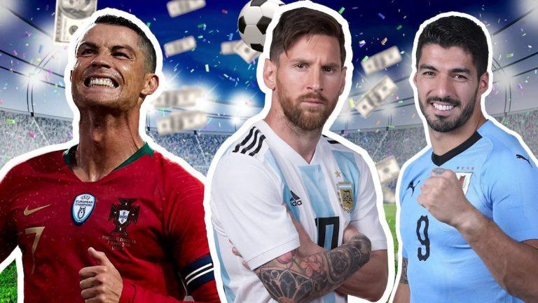 List Of Ten Highest-Paid Footballers In Europe