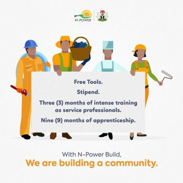 N-Power Build Beneficiaries
