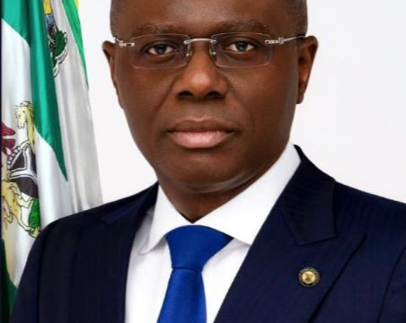 Official Portrait Of New Lagos State Governor, Babajide Sanwo-Olu