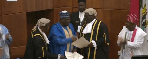 Ahmed Lawan Is Sworn-In As Senate President