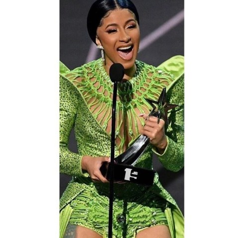 Cardi B Wins Album Of The Year At 2019 BET Award