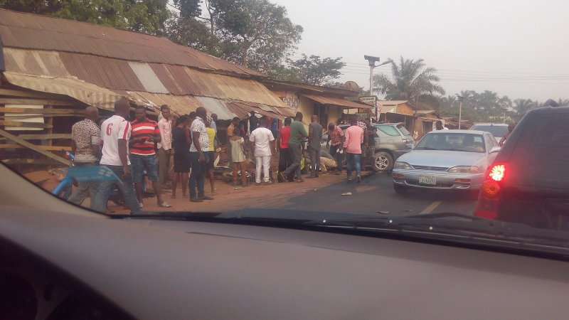 DOPT Car Crushes Street Trader To Death In Calabar