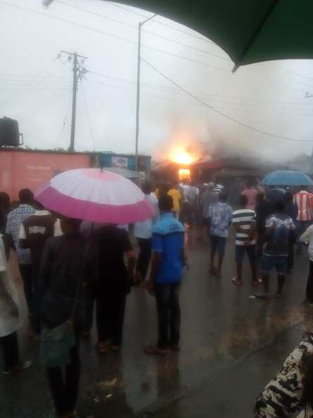 Gas Explosion Rocks A Gas Shop In Calabar