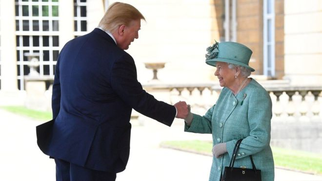 President Donald Trump Embarks On First Visit To The United Kingdom