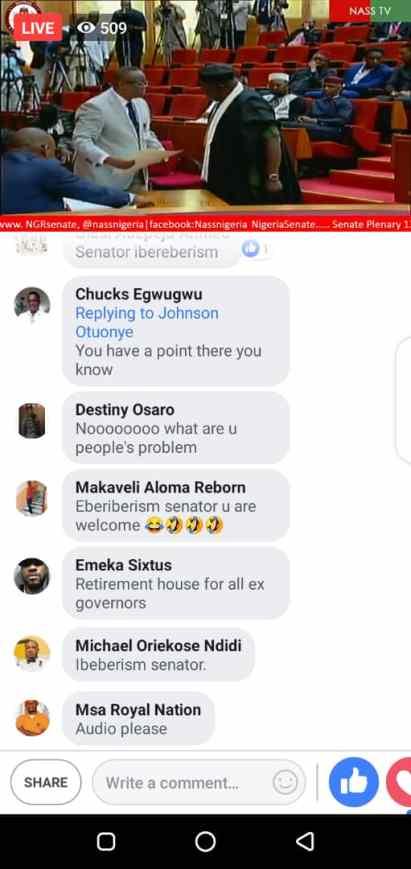 Rochas Okorocha Sworn-In As Senator