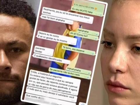 Screenshots Of WhatsApp Conversations Between Neymar And Rape Accuser Najila Trindade