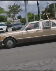 African Man Add External Generator And Air Conditioner To His Car