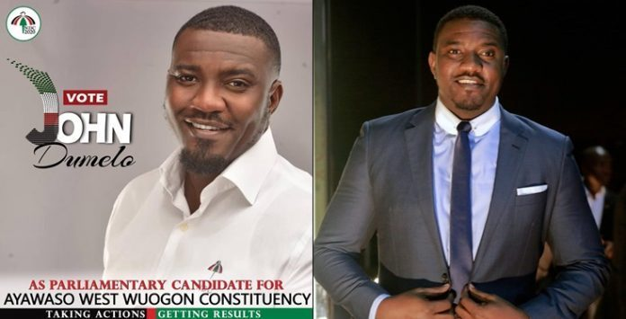 Ghanaian Actor John Dumelo Goes Into Politics