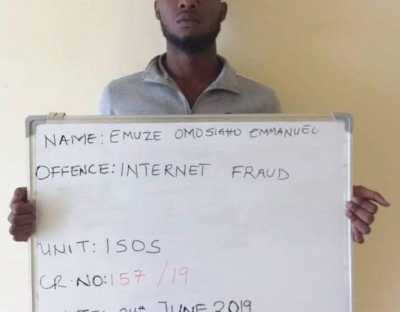 Internet Fraudster Bags Jail Term