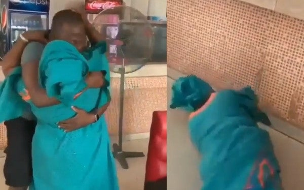 Mother Causes Scene At Eatery After Seeing Son Who Has Been Away For 5-Year