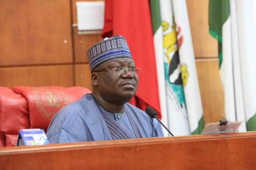 Nigerians Mock Senate President Lawan Over 'Sacrifice' Made By Lawmakers