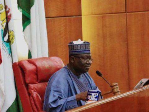 Senate President Lawan Announces Principal Officers