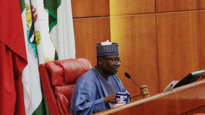Senate President Lawan Announces Principal Officers