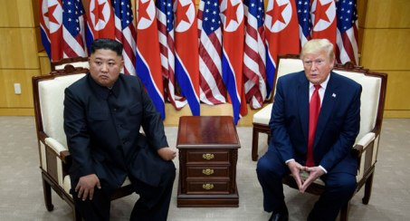 Trump Becomes First Sitting U.S. President To Visit North Korea