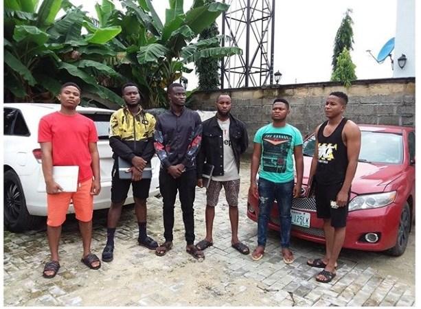 EFCC Arrests Six Yahoo Boys In Akwa Ibom