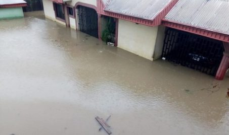 Flood Takes Over Akwa Ibom Community