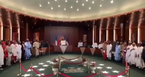 President Buhari's 2019 Ministers And Their Portfolios