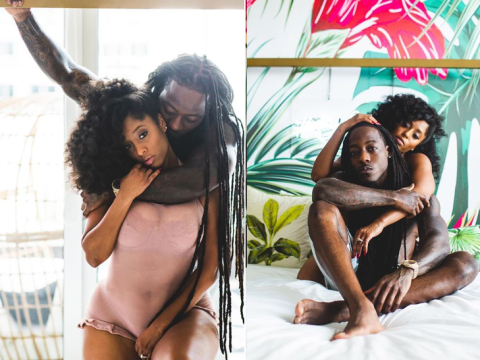 Ace Hood And Fiancee Shelah Marie All Loved-up In New Steamy Photos