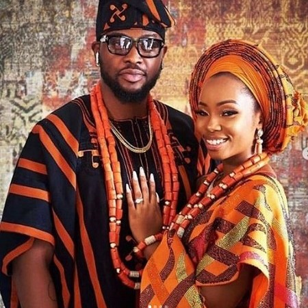 Bambam And TeddyA Wed In Ogun