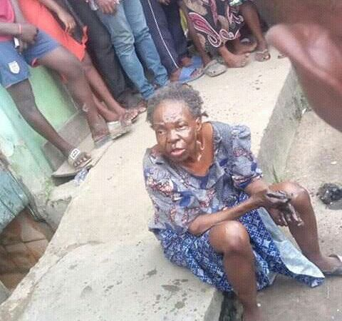 How Bird Turned To An Old Woman In Lagos