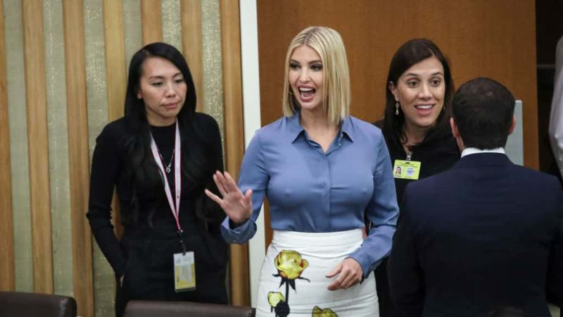 Ivanka Trump's Bra-less Outfit At UNGA Shocks The World