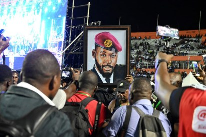 Photos From The Funeral Concert Of Popular Musician, DJ Arafat