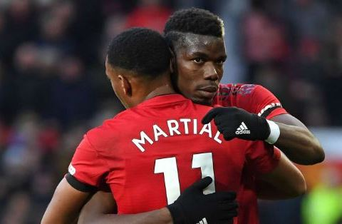 Pogba And Martial Ruled Out Of Leicester Clash