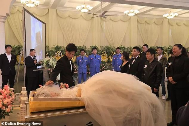 Chinese Man Marries His Fiancee's Dead Body During Her Funeral