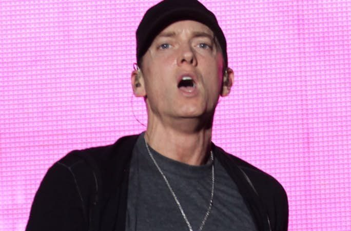 For Threatening President Donald Trump, The Secret Service Questioned Eminem
