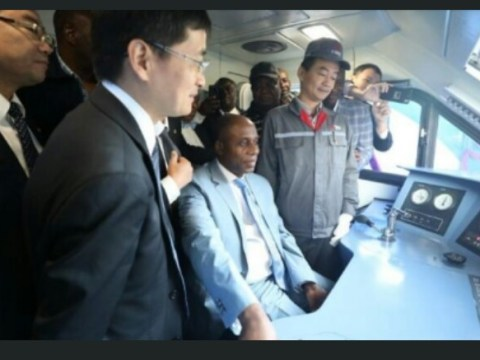 Transport Minister, Amaechi Inspects Trains Built For Nigeria In China, To Take Delivery
