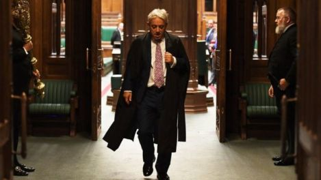 British Parliament Speaker, John Bercow To Step Down