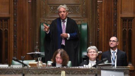 British Parliament Speaker, John Bercow To Step Down