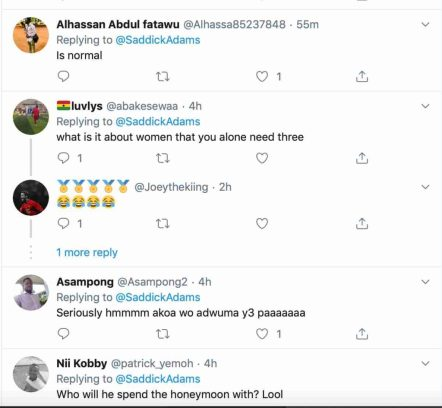 Man Set To Marry 3 Women On Same Day In Ghana