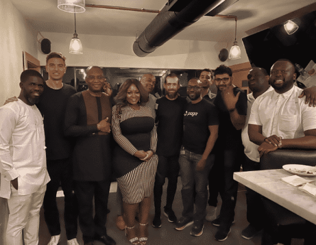 The Moment Twitter CEO Jack Dorsey Landed In Nigeria