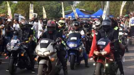 300 Power Bikers Storm Calabar